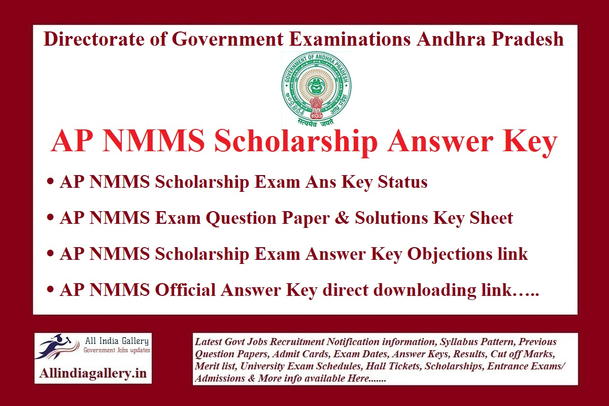 AP NMMS Scholarship Answer Key