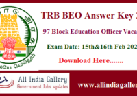 TN TRB BEO Answer Key