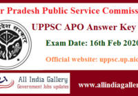 UPPSC APO Answer Key