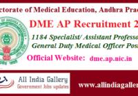 DME AP GDMO Recruitment