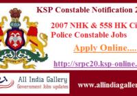 KSP CPC Recruitment 2020