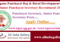 TS Panchayat Secretary Recruitment 2020