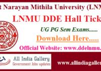 LNMU DDE Admit Card