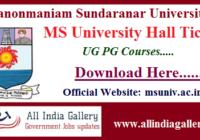 MSU MS University Hall Ticket