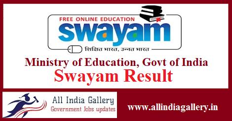 Swayam Result