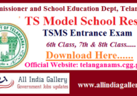 TS Model School Result