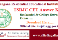 TSRJC Answer Key