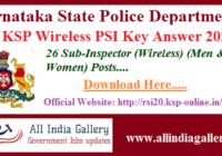 KSP Wireless PSI Key Answer 2020