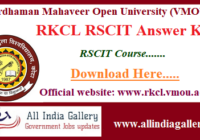 RKCL RSCIT Answer Key