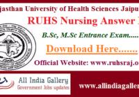 RUHS Nursing Answer Key