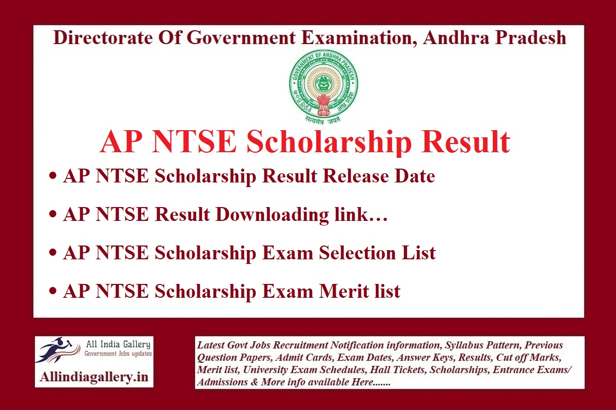 AP NTSE Result
