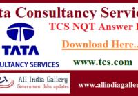 TCS NQT Answer Key