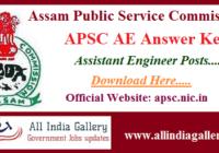 APSC AE Answer Key