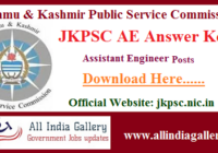 JKPSC AE Answer Key