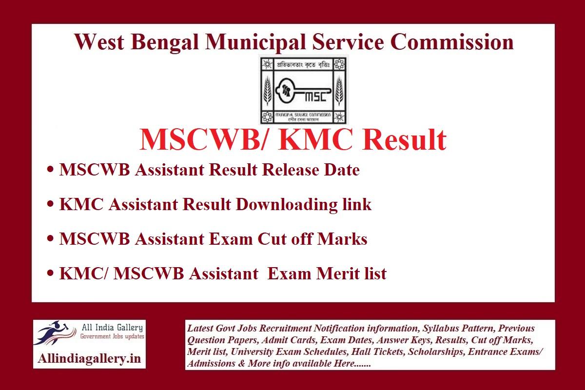 MSCWB Result