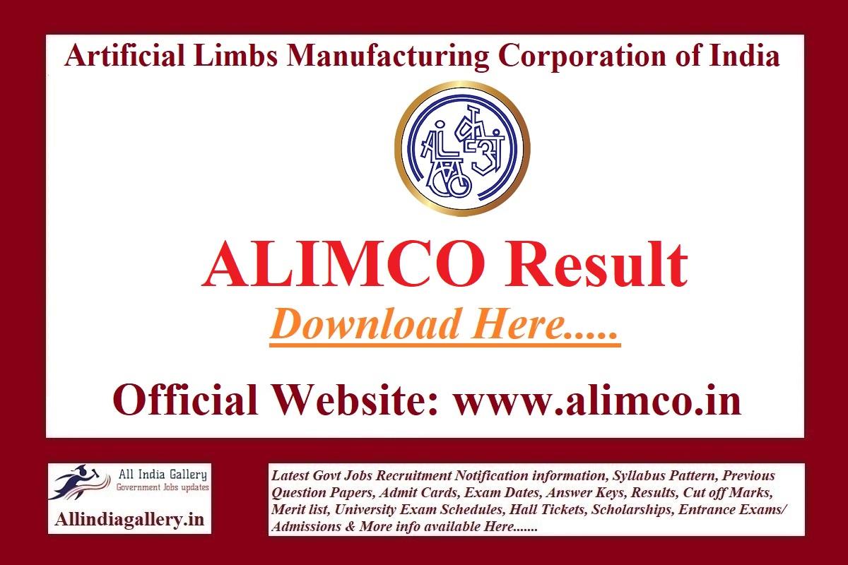 ALIMCO Result