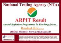 ARPIT Result