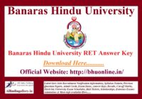 BHU RET Answer Key