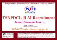 TSNPDCL JLM Recruitment Notification
