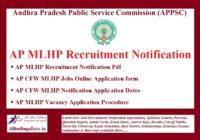 AP MLHP Recruitment Notification