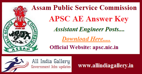 APSC Assistant Engineer Answer Key