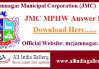 JMC MPHW Answer Key
