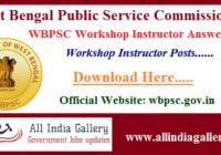 WBPSC Workshop Instructor Answer Key