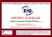 APEPDCL JLM Result