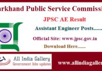 JPSC AE Result
